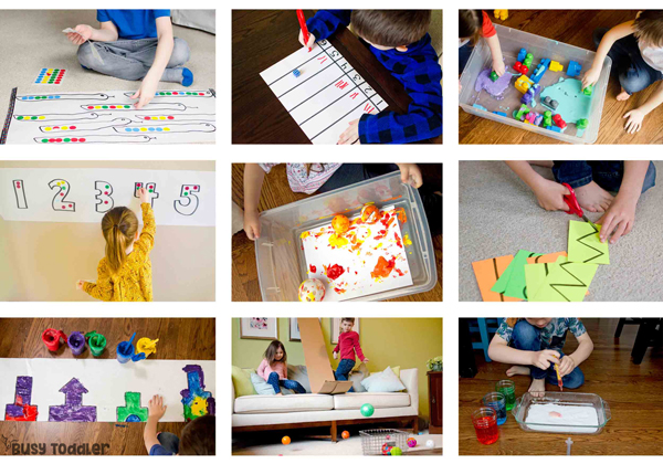 WELCOME TO PLAYING PRESCHOOL YEAR 2: A second year of homeschool preschool done right! Easy lessons, hands-on learning, play-based methods; no worksheets, no fancy supplies; this is the easiest homeschool preschool curriculum; lessons plans from Busy Toddler