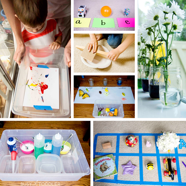 Collage images for Playing Preschool
