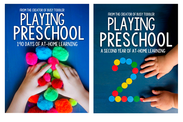 PLAYING PRESCHOOL PROGRAM BUNDLE: Get both years of the Playing Preschool Program from Busy Toddler